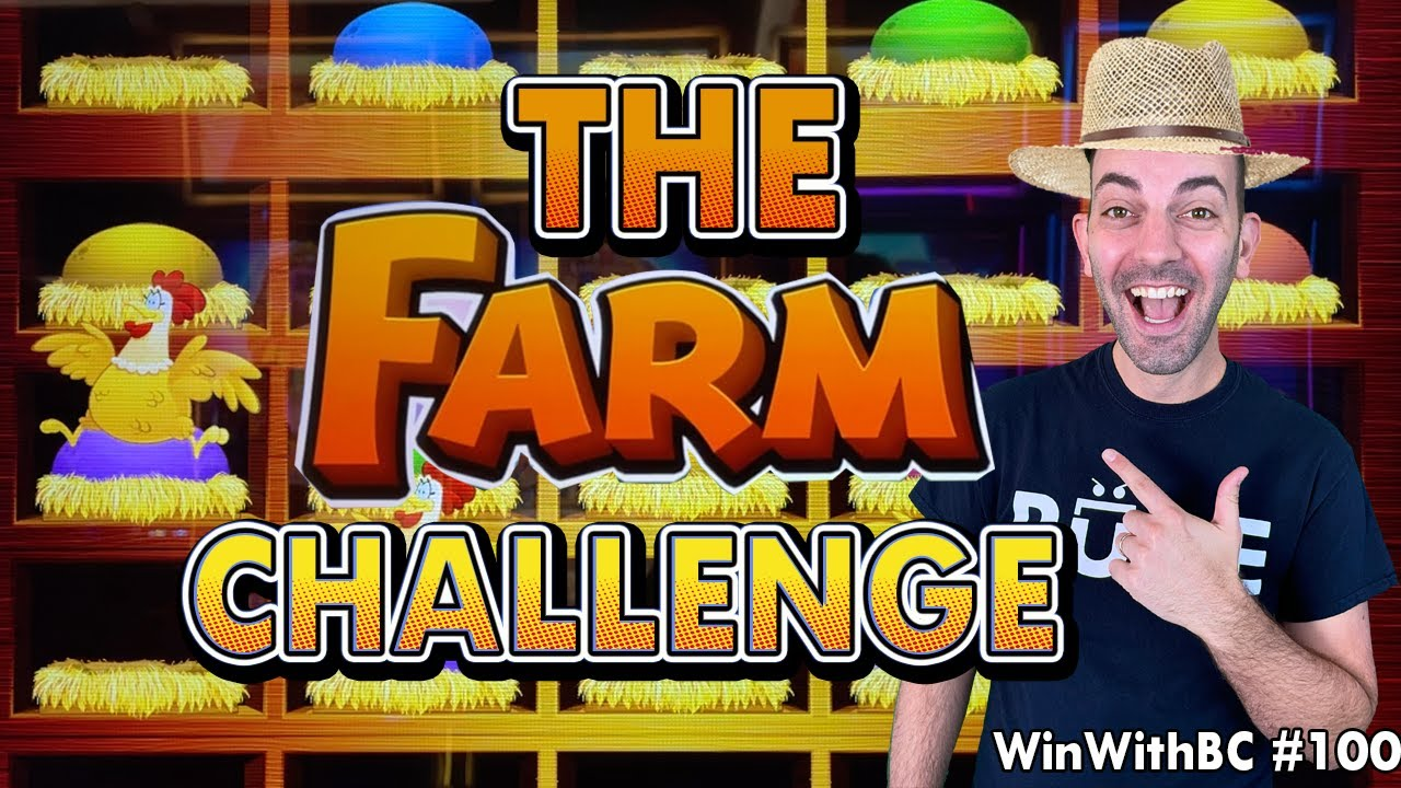 🐮 The Farm Challenge 🐥 Time to harvest some Jackpots!