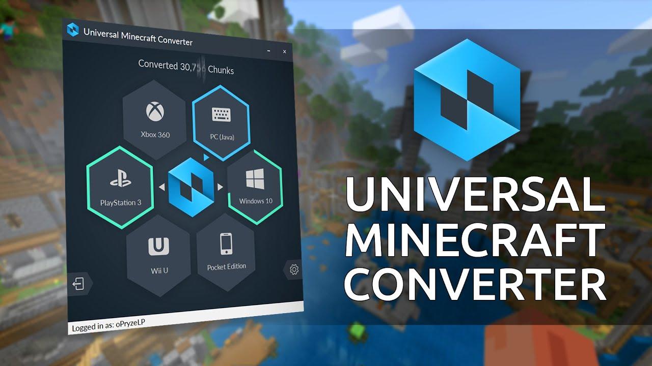 Universal Minecraft Converter! - Convert Minecraft Worlds Easily