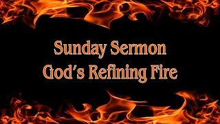 God's Refining Fire