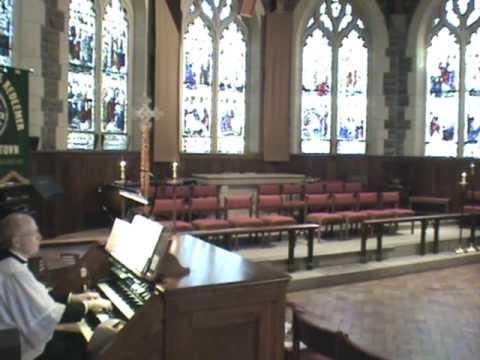 """Pipe Organ - """"Es ist das Heil uns kommen her"""", BWV 638, J. S. Bach"""