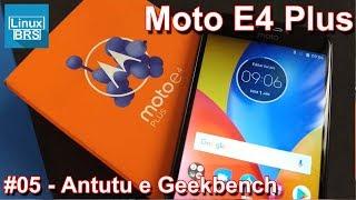 Motorola Moto E4 Plus - Antutu Benchmark e Geekbench 4