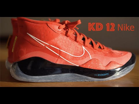 KD 12 Nike id Kevin Durant (sony Alpha