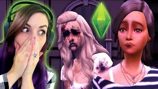 Reacting to the SCARIEST Sims Stories