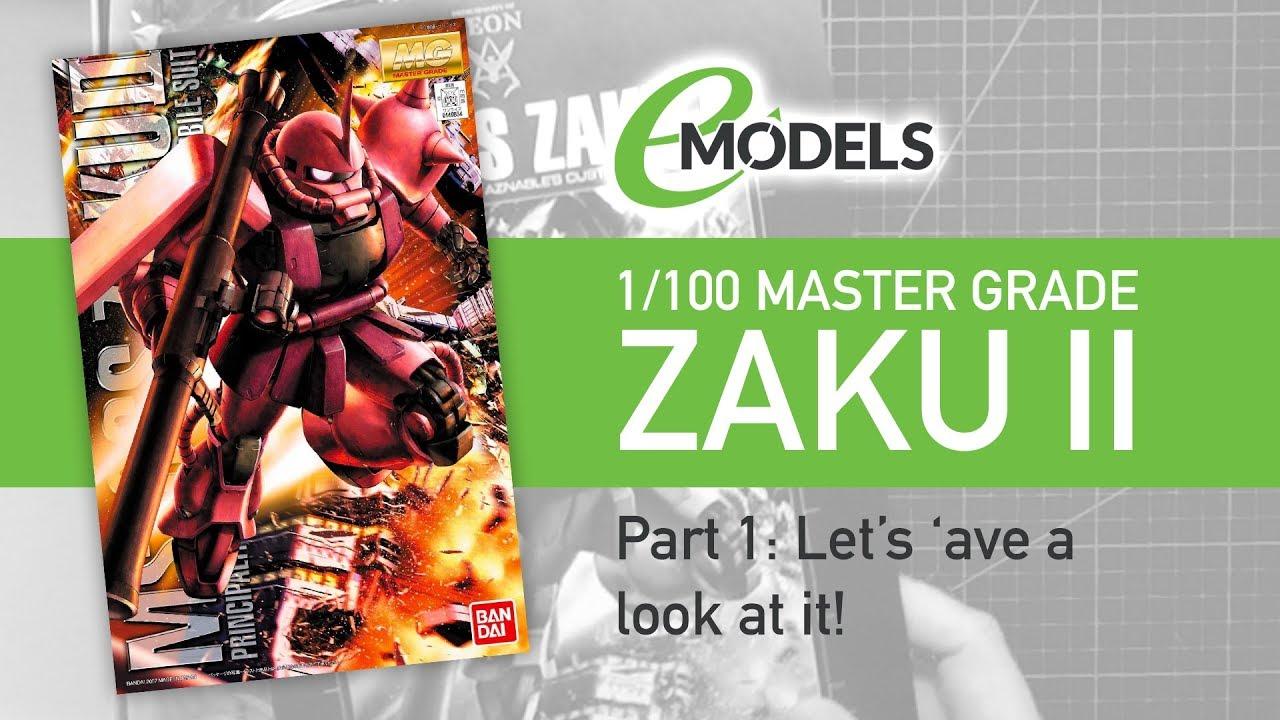 Download Bandai 1/100 Master Grade MS-06S Char's Zaku Ver. 2.0 Part 1 ( # 0149834 )