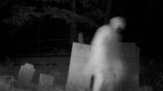 scary cemetery ghost footage spooky apparition caught on tape