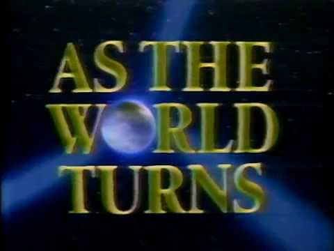 1988 - Open to 'As The World Turns'