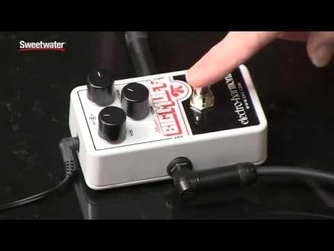 Electro-Harmonix Nano Big Muff Pi Fuzz Pedal Review by Sweetwater Sound