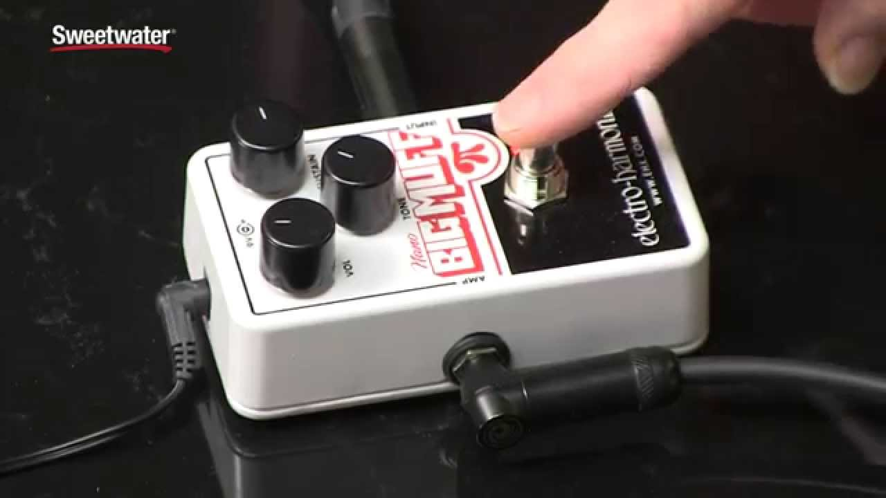 electro harmonix nano big muff pi fuzz pedal review by sweetwater sound youtube. Black Bedroom Furniture Sets. Home Design Ideas