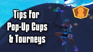 Tips To Score Higher In Tournaments & Pop-Up Cups! - New Fortnite Ranked Mode