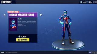 Fortnite Pure Salt Emote || Female Winter Ski Skins