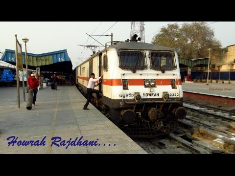 HOWRAH RAJDHANI EXPRESS: Full Speedy Journey Onboard India's 1st Rajdhani AKA ER King