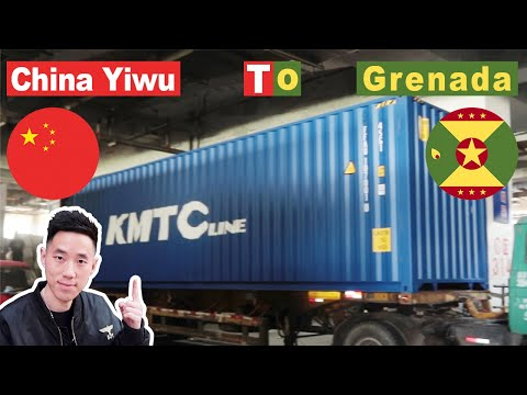 Shipping By Sea | 1ST | Grenada | Shoes | GoldenShiny Trading