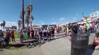 Calypso Tumblers - Street performers - Venice Beach California