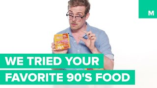 We Tried Our Favorite 90's Food