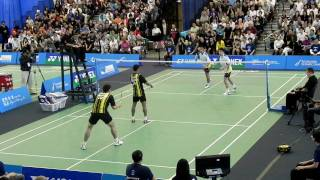 Yonex Canada Open 2010  方介民/李勝木 VS Hendri Kurniawan Saputra/Chayut Triyachart  1/4