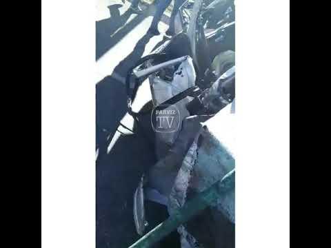Страшная авария на трассе Вахдат - Кулоб! Погибли 8 человек!