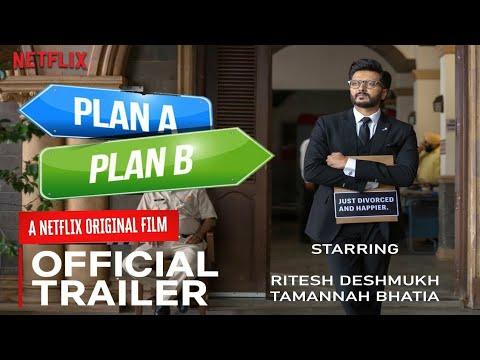 PLAN A PLAN B | Official Trailer | Netflix | Ritesh Deshmukh,Tamanna Bhatia | Plan A Plan B Trailer