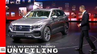2019 Volkswagen Touareg - VW Unveiling