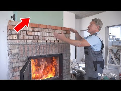 Камин печка для дома своими руками