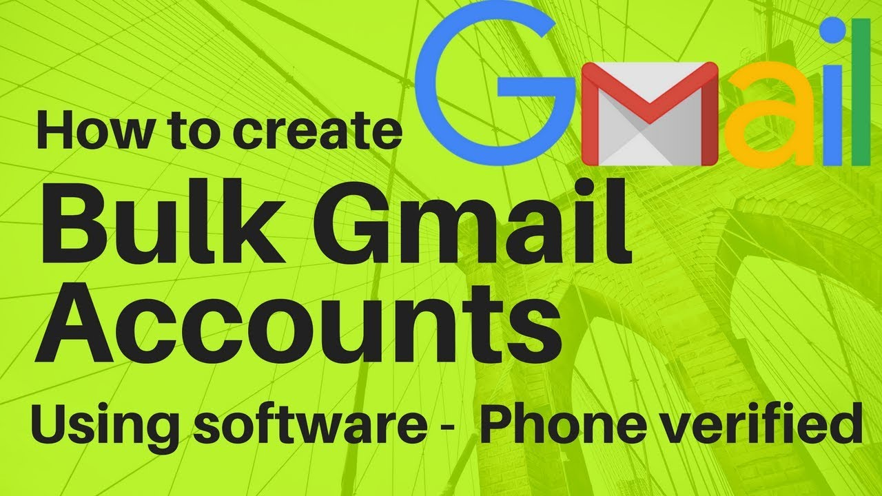 GET] PVA Gmail Account Creator - Software + License Download