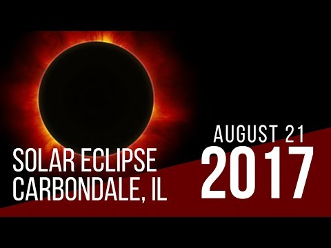 Solar Eclipse Timelapse from Carbondale, Illinois - August 21, 2017