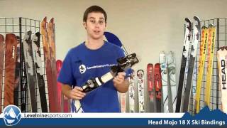 Head Mojo 18 X Ski Bindings Matte
