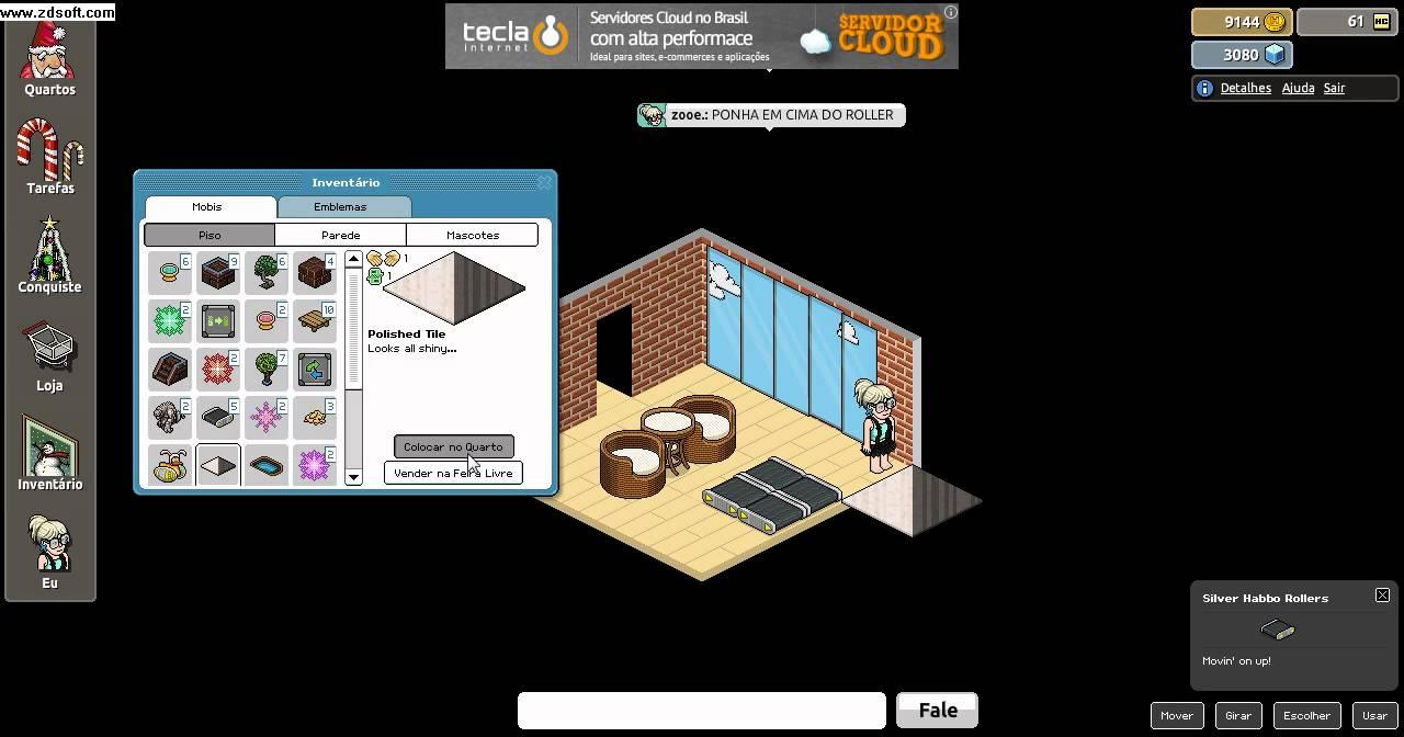 Como Hacer Una Sala De Estar Habbo ~ Como aumentar seu quarto e fazer escadas (habbo pirata)  YouTube