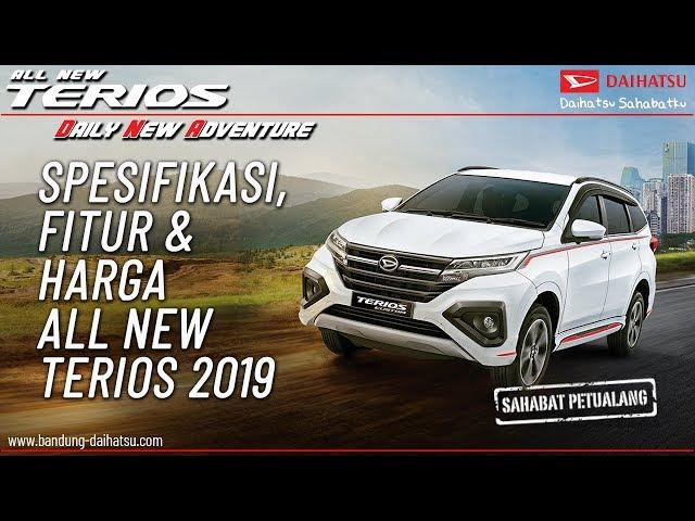 Spesifikasi, Fitur & Harga Daihatsu Terios 2019