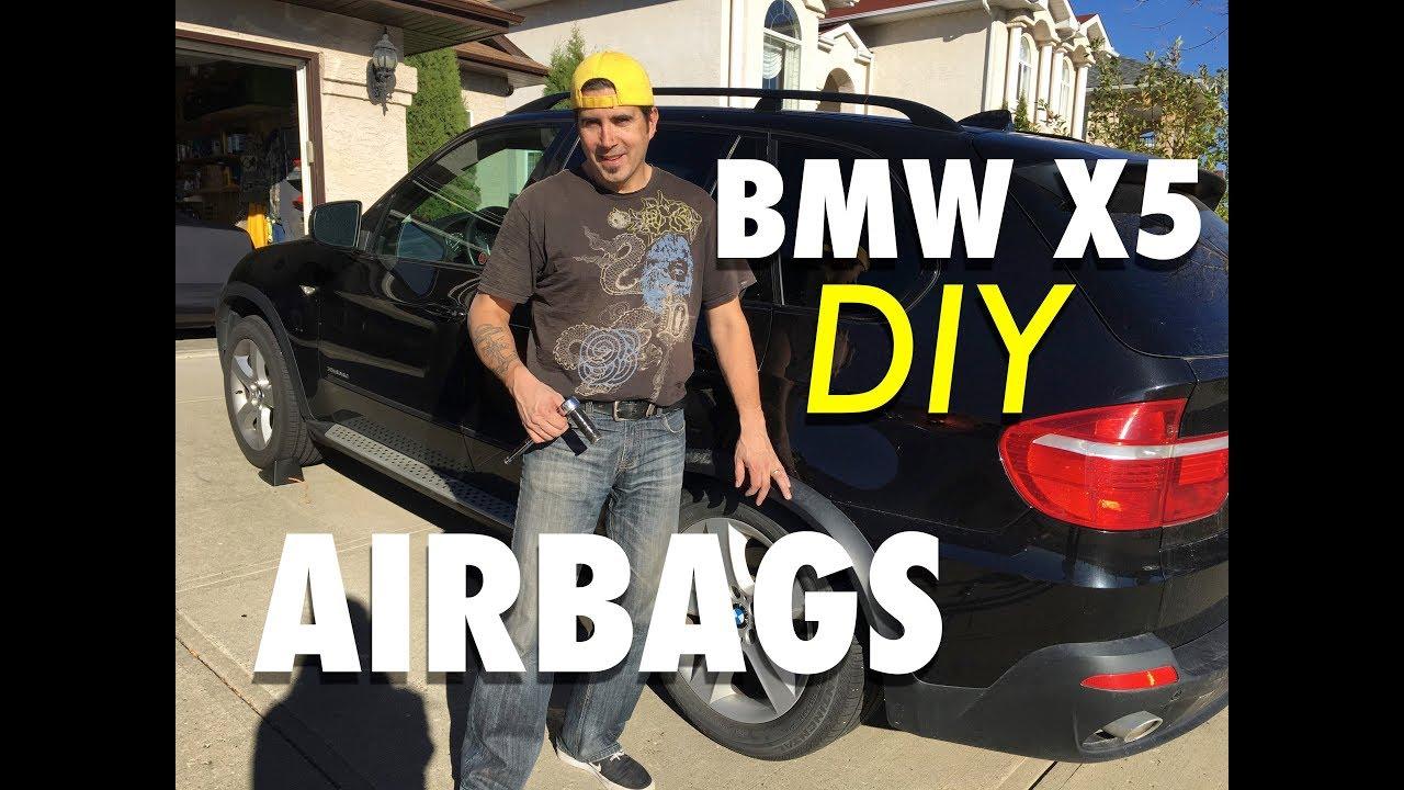BMW E70 X5 Air Suspension Repair | DIY Bag Replacement