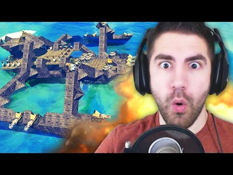 INCREDIBLE SPIDER BOAT - The Last Leviathan - Part 1 (Like Besiege) | Pungence