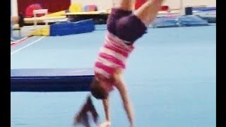 How To Do A Round Off With Coach Meggin! (Professional Gymnastics Coach)