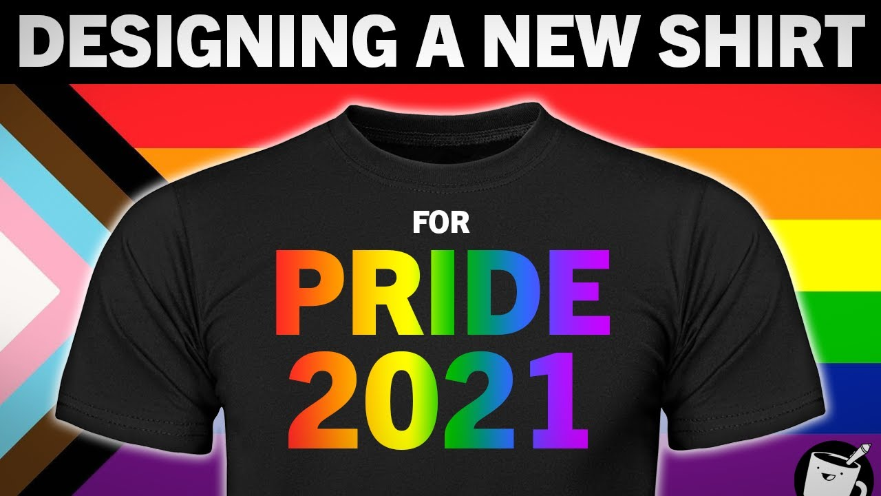 Artists Design A Shirt For Pride 2021