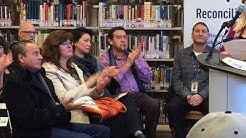 Reconciliation reading room opened at main library