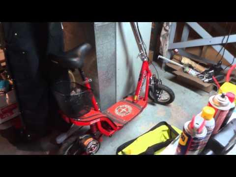 Schwinn Missle FS Electric Scooter YouTube