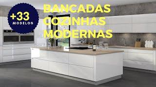 +45 Bancada para Cozinha Modernas: Dicas Exclusivas Modelos
