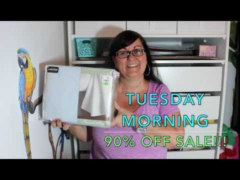 TUESDAY MORNING 90% OFF HAUL!!!