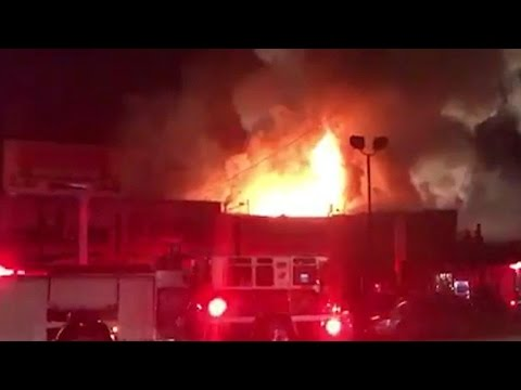 Deadly fire at Oakland warehouse party