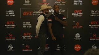 Fight Night Singapore: Media Day Faceoffs
