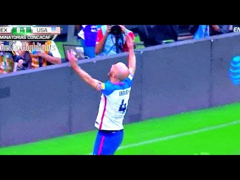 michael bradley incredible goal  vs mexico vs usa - mexico vs estados unidos 1-1 6/11/2017