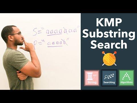 Knuth–Morris–Pratt (KMP) Pattern