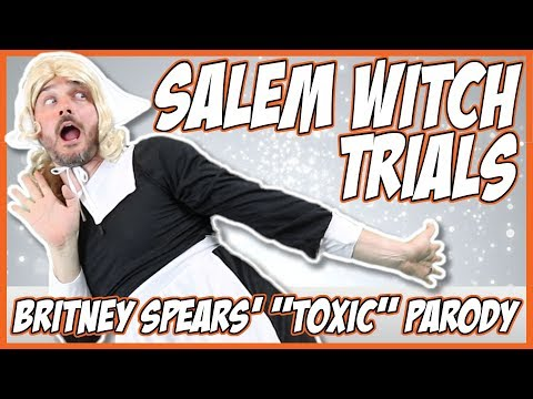 Salem Witch Trials & *Contest*! (Britney Spears'