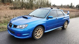 First Test Drive of the Budget WRX STI!