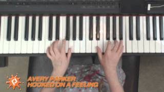 Hooked On A Feeling piano cover by Avery Parker