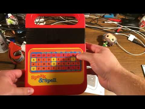 The New 2019 Speak N Spell | Unboxing And First Impressions | Ever-Curious Geek