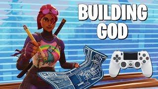 High Build Sensitivity Made Me a GOD (Fortnite Battle Royale)