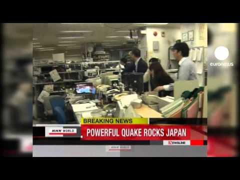 Japonya'da 8,8 büyüklüğünde deprem