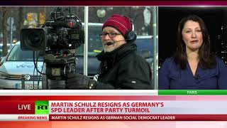 Martin Schulz resigns as leader of Germany's Social Democrats