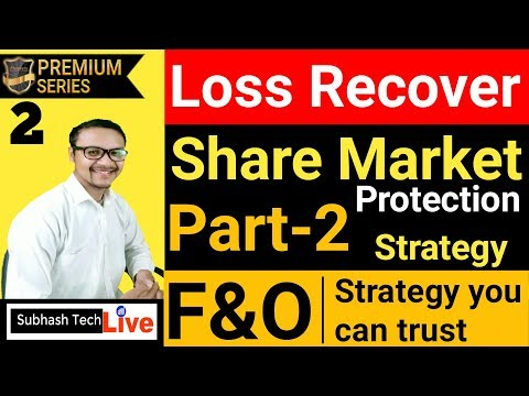Share Market Loss Recover Strategy Part2 | Option Chain Startegy | Portfolio Protection 2019.