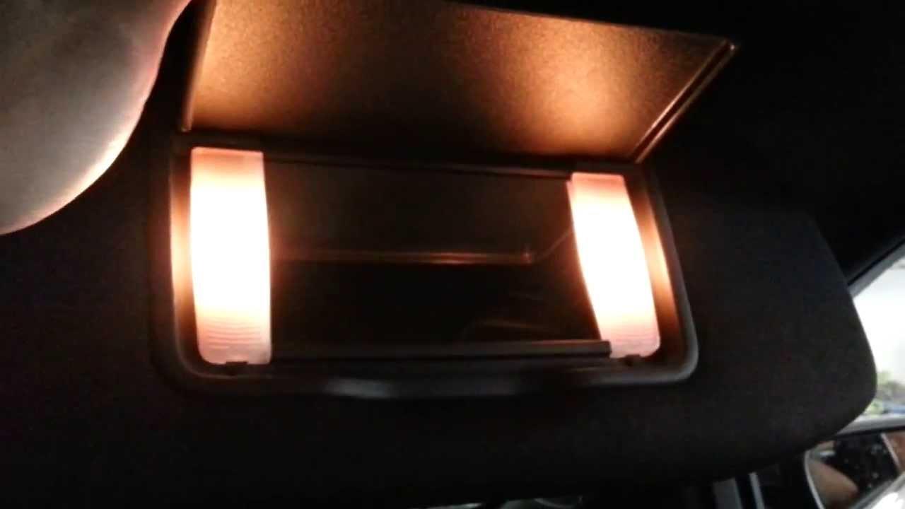 2013 ford taurus sedan testing new vanity mirror light bulbs in 2013 ford taurus sedan testing new vanity mirror light bulbs in sun visors youtube aloadofball Image collections