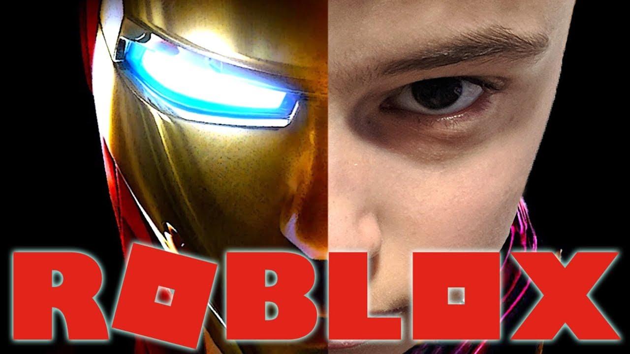 IRON MAN IN ROBLOX !!